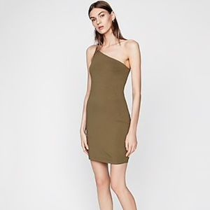 Express Asymmetrical Sheath Dress